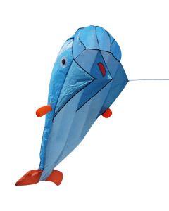 Blue Dolphin Kite Parafoil Frameless