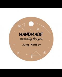 Stars Handmade Tag