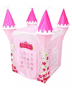 4 Towers Pink Princess Castle Tent