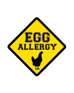Kids Allergy Clothing  Labels - Egg