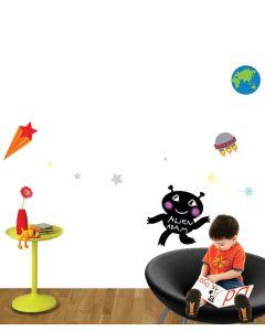 Outer Space - Alien Blackboard Pack