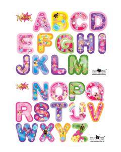 Alphabet The Fairies Multi Wall Sticker Pack