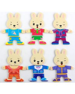 Baby Rabbit Puzzle Wooden Toys