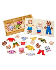 Baby Bear Puzzle Wooden Toys