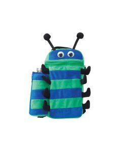 Bug Bpack & Bottle Blue and Green Prints