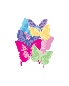 Butterfly Clothing Labels