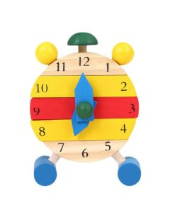 Montessori Wooden Clock Toy Jigsaw Puzzle