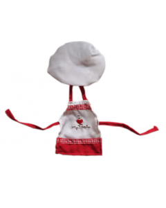 Christmas Cousin Cooking Apron Hat