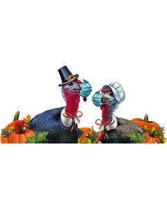 COVID Turkey Couple