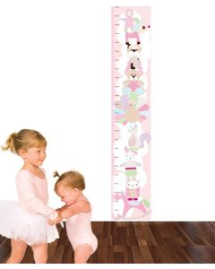 Cuddley Toys Pastel Pink Growth Chart Pack