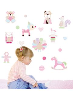 Cuddley Toys Wall Sticker Packs