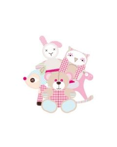 Cuddly Toys Girl Name Labels