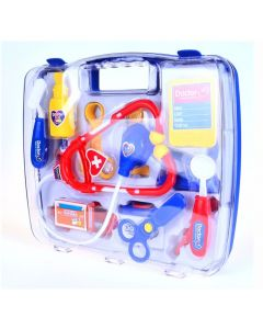Pretend Play Doctors Medical Case Blue