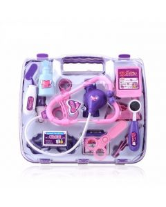 Pretend Play Doctors Medical Case Purple