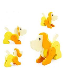 Kids 3D Jigsaw Puzzle - Dog