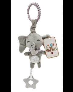 Cuddley Musical Teething Plush Toy Elephant