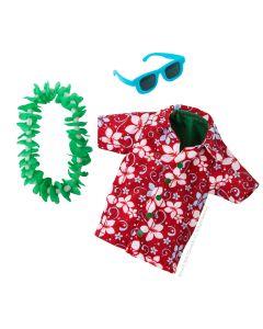 Elf on a Shelf Hawaiian Holiday Outfit