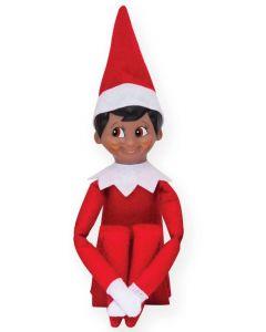 Elf on a Shelf Dark Boy with Brown Eyes