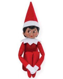 Elf on a Shelf Dark Girl with Brown Eyes