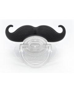 Babys Funny Dummy Pacifier Novelty Moustache - Englishman