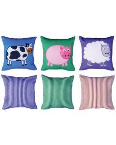 Farmyard (pack of 3) Cushions Pack