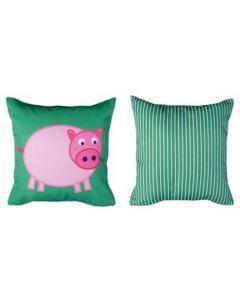 Themed Cushion - Farmyard - Pig