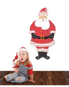 Father Christmas Pattern Multi Giant Character Pack