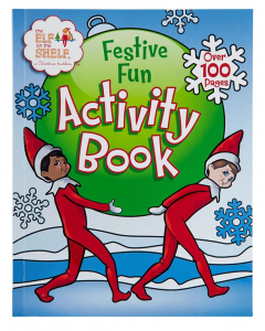 Elf on the Shelf Festive Fun Activity Book