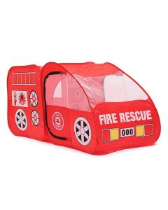 Kids Fire Rescue Truck Play Tent