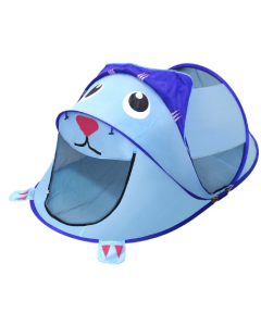 Giant Blue Dog Tent