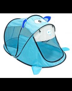 Giant Blue Piggy Tent