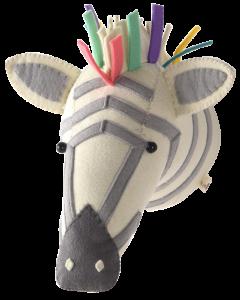 3D Wall Mounted Pastel Giraffe Head