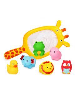 Water Bath Toy Fishing Net Giraffe