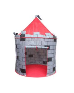 Grey Prince Castle Kids Play Tent