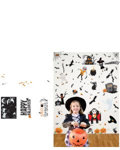 Halloween Multi Coloured Wall Stickers Pack