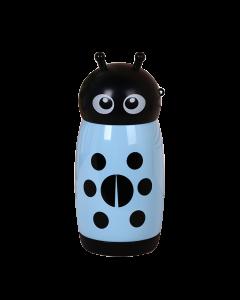 Blue Ladybug Stainless Steel Thermos Mug