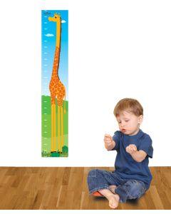 Jungle Giraffe Multi Coloured Growth Chart Pack