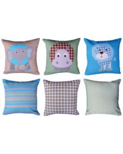 Jungle Animals Patterns (pack of 3) Cushions Pack