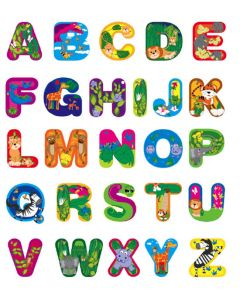 Kids Names Wall Stickers (Jungle Fever)