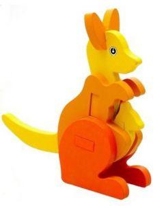 Kids 3D Jigsaw Puzzle - Kangaroo