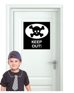 Door Sign - Keep Out