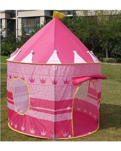 Princess Castle Kids Play Tent Pink