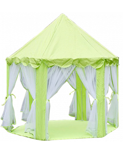Kids Green Princess Castle Tent