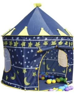 Prince Castle Kids Play Tent Blue