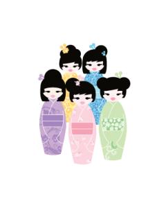 Kimono Name Labels