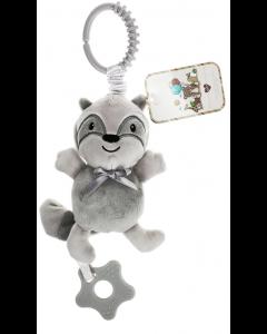 Cuddley Musical Teething Plush Toy Kitty Cat