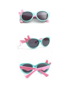 Sky Blue Kids Polarized Sunglasses TR90 Frame UV400 Cute Cool Eyewear