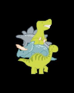 Little Dinosaur Explorer Clothing Labels