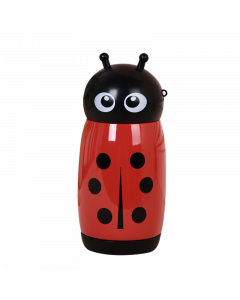 Red Ladybug Stainless Steel Thermos Mug