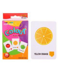 Kids Flash Cards Colour